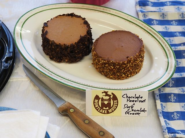 One of the tasty treats provided by Montlake Mousse for NPI's 2017 Spring Fundraising Gala