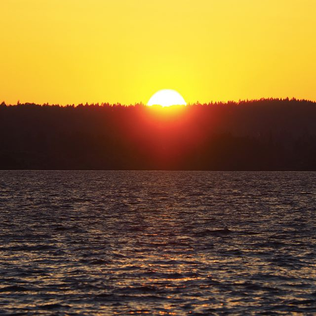 Sunset over Lake Washington