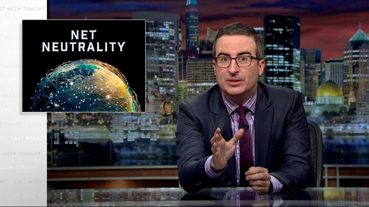 John Oliver on protecting net neutrality