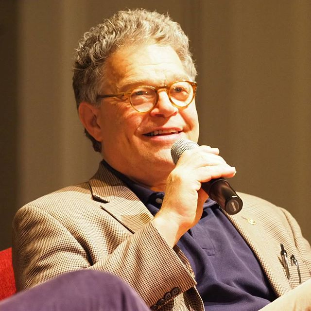 Minnesota Senator Al Franken reflects about his path to the United States Senate