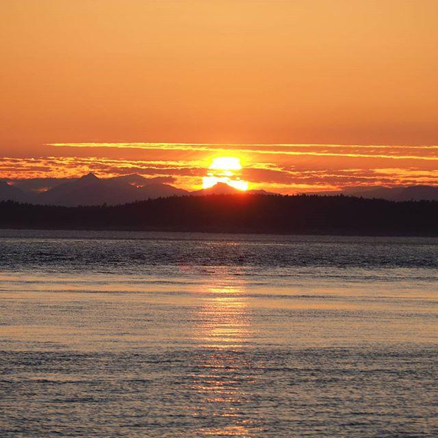 Sunset from San Juan County Park