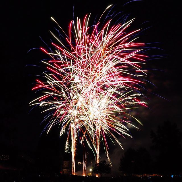 Bonus July fireworks: Composite from the Redmond Derby Days grand finale