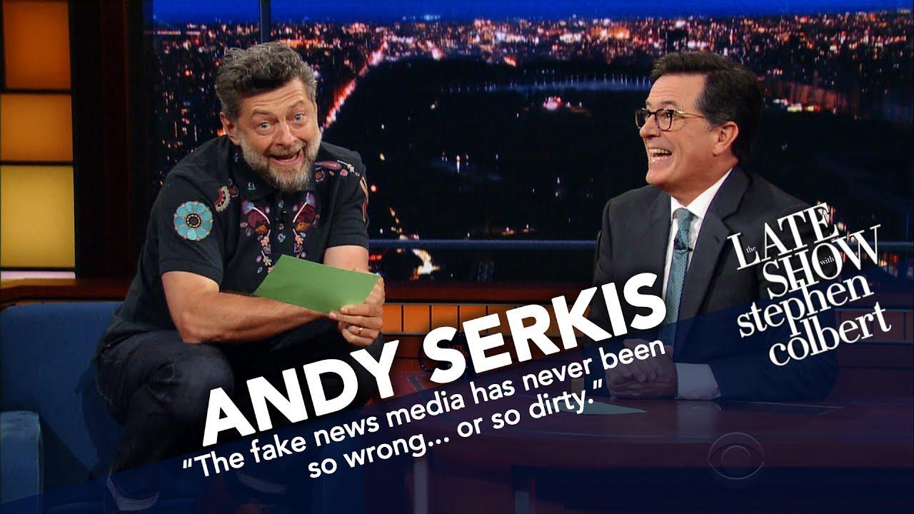 Andy Serkis reads Trump's tweets