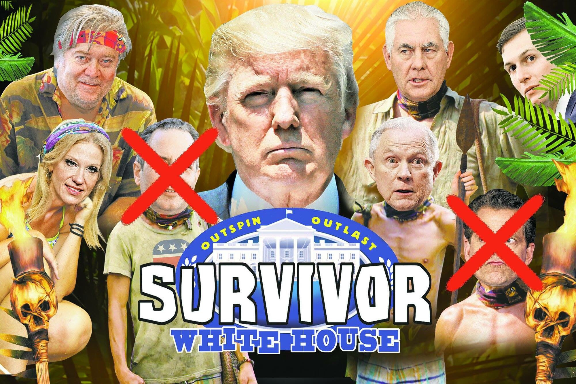 Outspin. Outlast. Presenting.... Survivor: White House