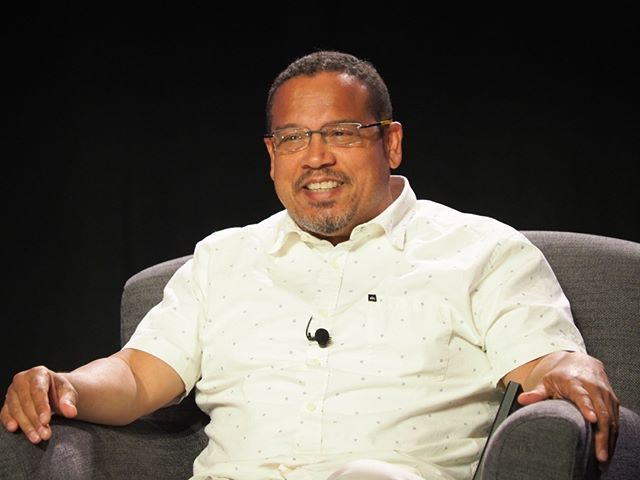 Scenes from Netroots Nation 2017: U.S. Representative Keith Ellison participates in a plenary panel #NN17