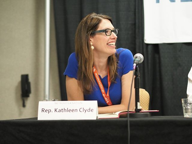 Scenes from Netroots Nation 2017: Representative Kathleen Clyde, Democratic candidate for Ohio Secretary of State, participating in a panel about using ballot measures to drive progressive change #NN17