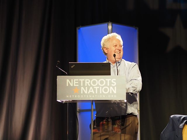 Scenes from Netroots Nation 2017: Chairman Emeritus Adam Bonin conducts the eleventh annual Pub Quiz #NN17
