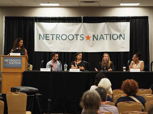 Scenes from Netroots Nation 2017: The California Dreamin' panel #NN17