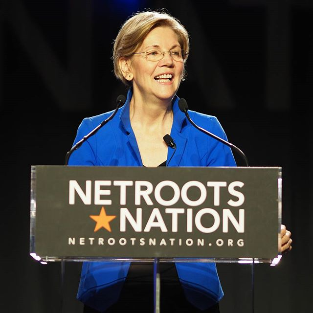 Scenes from Netroots Nation 2017: Nevertheless, she persisted... Senator Elizabeth Warren gets a beloved champion's welcome #NN17