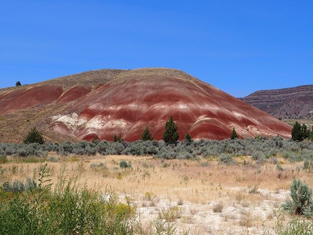 Happy 101st Anniversary, National Park Service! This photo was taken shortly after the conclusion of the Great American Eclipse at one of the lesser known treasures of the Pacific Northwest: the John Day Fossil Beds National Monument's Painted Hills Unit