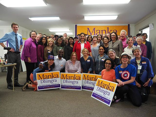 Volunteers ready to canvass to flip the 45th District blue