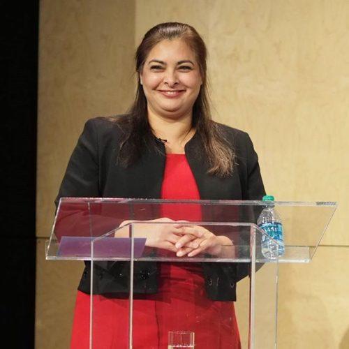 Manka Dhingra at Seattle CityClub's 45th District Senate Debate