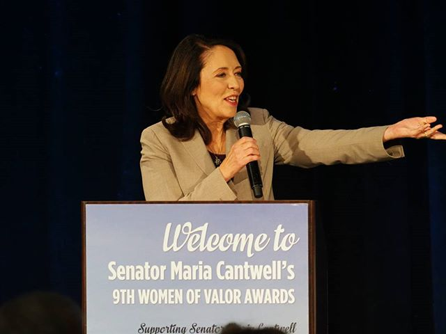 Senator Maria Cantwell anchors her ninth annual Women of Valor Awards