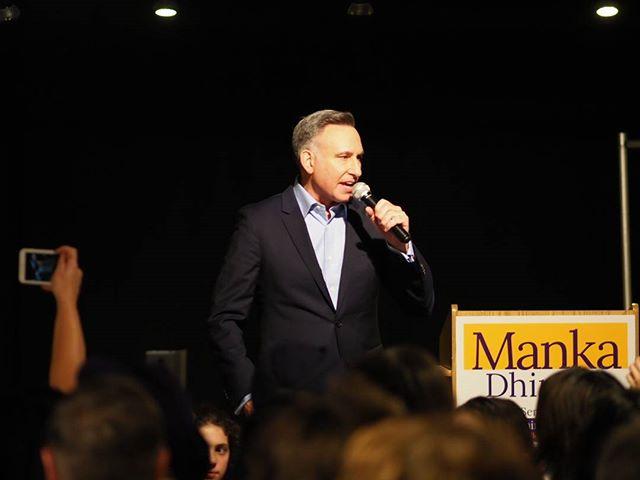 Dow Constantine kicks off Senator-elect Manka Dhingra's victory party #waelex