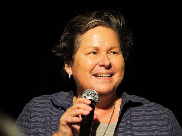 Washington State Democratic Party Chair Tina Podlodowski salutes the hard work of Democratic activists in the 45th #waelex