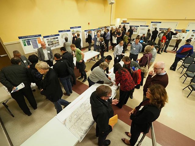 Redmond neighbors examine the concepts for the future Downtown and Southeast Redmond light rail stations