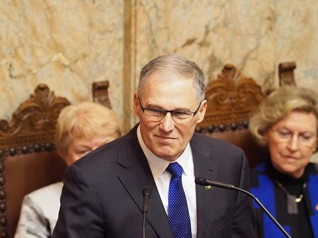 Governor Jay Inslee delivers his 2018 State of the State Address