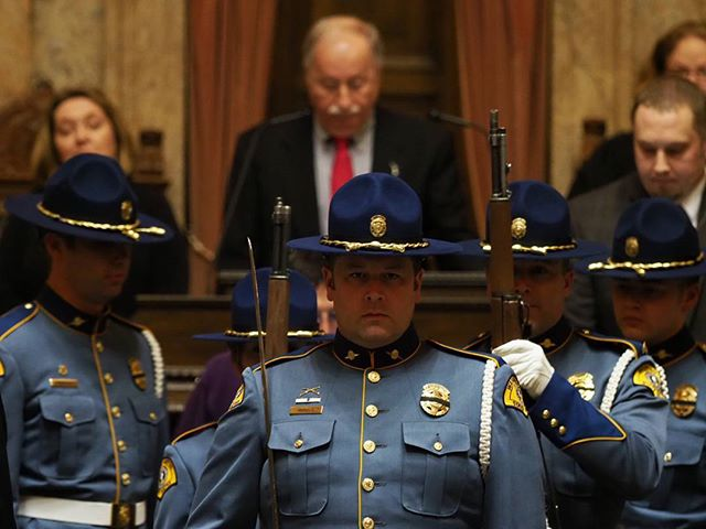 2018 Washington State Legislature Opening Festivities: Presentation of the colors in the House