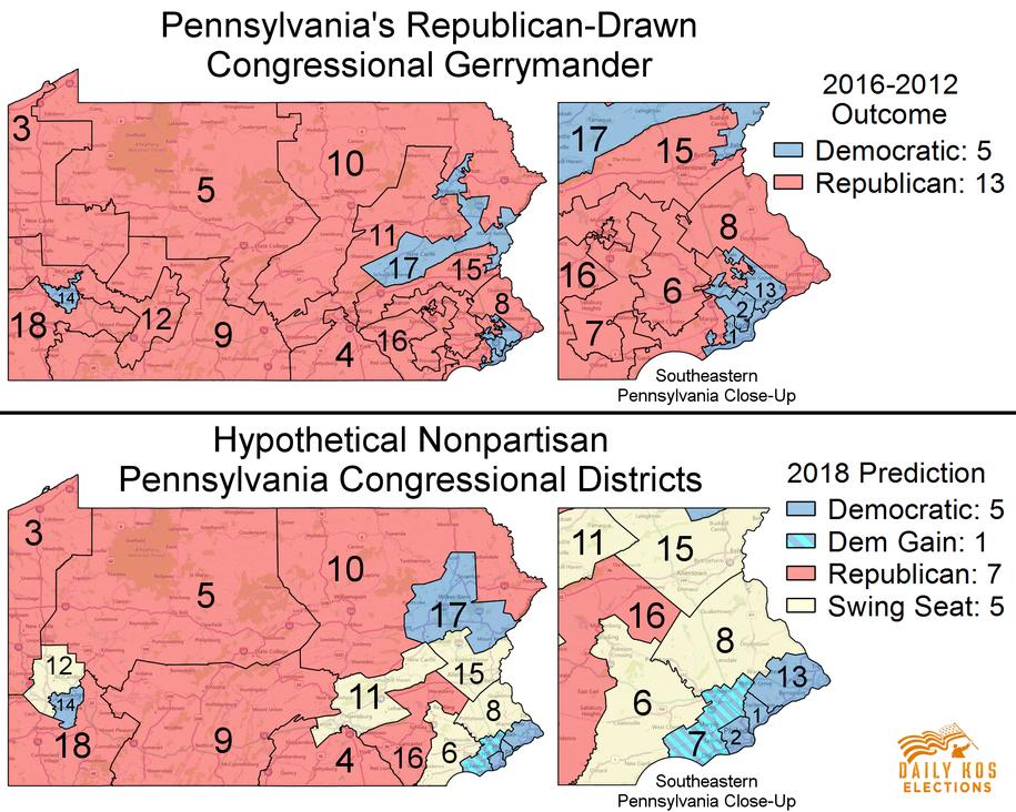 Gerrymander of Pennsylvania