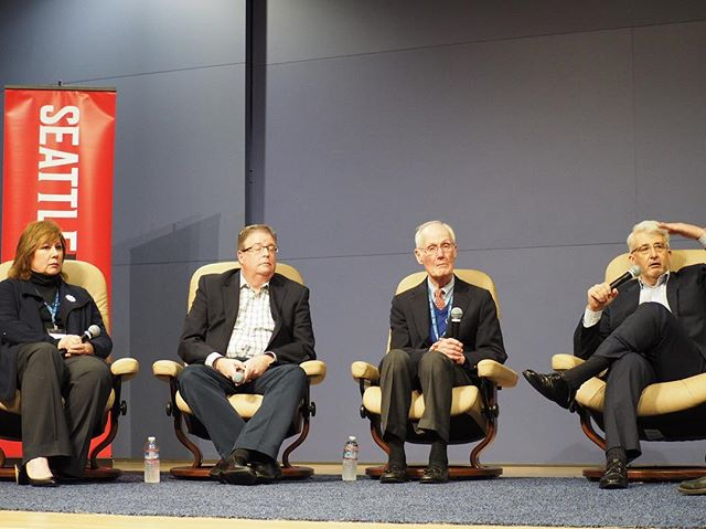 """Panel titled """"The GOP is dead. Long live the GOP!"""" at #crosscutfest"""