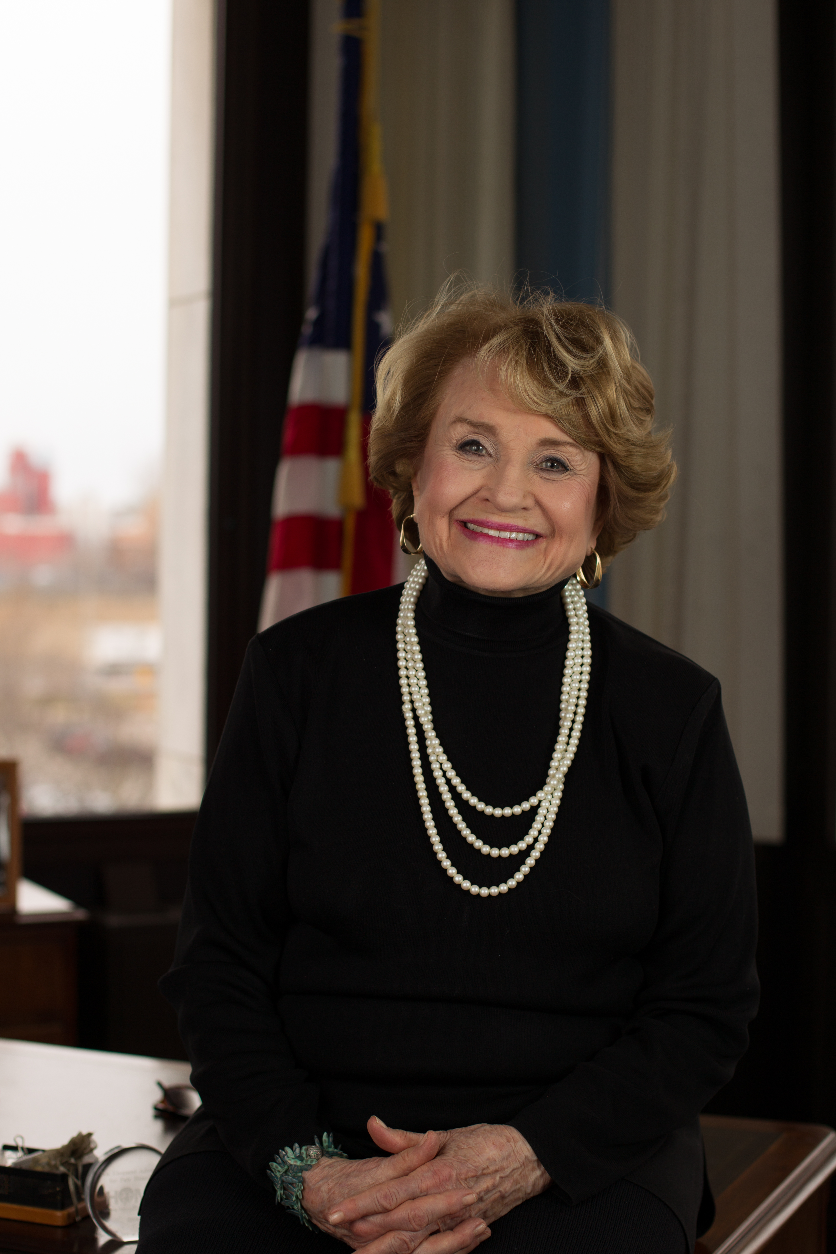 Congresswoman Louise Slaughter