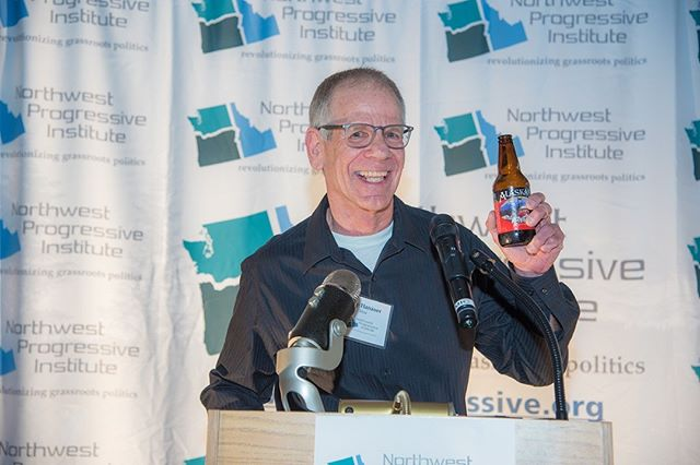 NPI's 2018 Spring Gala in pictures: Hydroplane legend and reception host Chip Hanauer toasts NPI's success