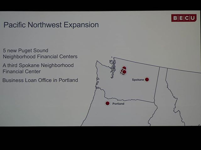 @BECU continues to expand in the Pacific Northwest, with a growing presence in Spokane #WeAreBECU
