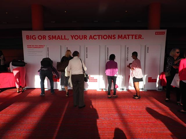 Big or small, your actions matter: Community impact was the theme of this year's @BECU Member Summit #WeAreBECU
