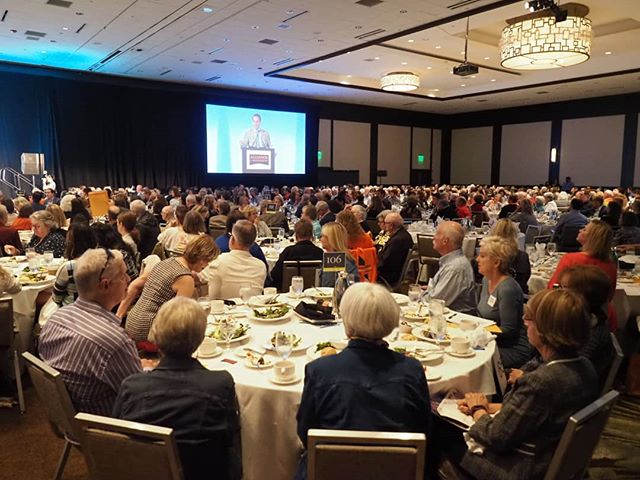 Packed ballroom for the Washington Alliance for Gun Responsibility annual luncheon