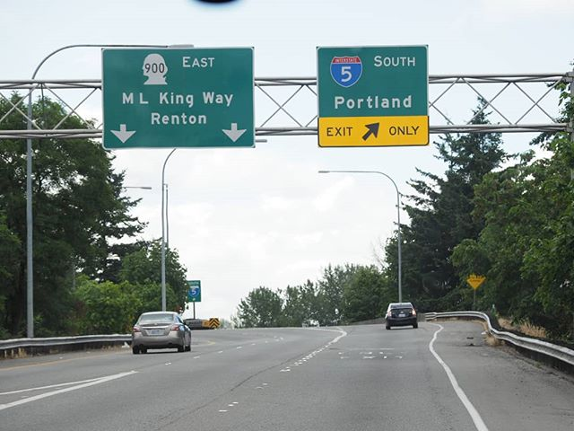 On the road to Olympia to turn in signatures for I-1631