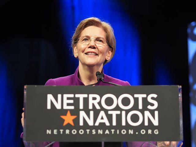 Scenes from #NN18: In Elizabeth Warren we trust