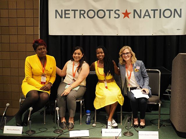 Scenes from #NN18: Kristin Rowe-Finkbeiner's Keep Marching 2018 panel wraps up an engaging discussion on building grassroots power