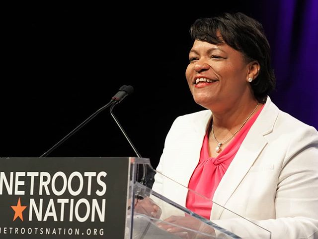 Scenes from #NN18: A warm welcome from New Orleans Mayor LaToya Cantrell