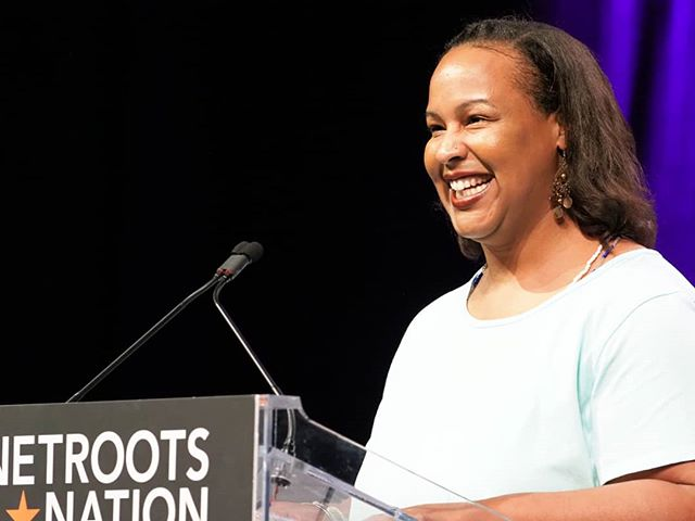 Scenes from #NN18: Colette Pichon Battle, Esq. eloquently describes the work being done to advance environmental and social justice in Louisiana