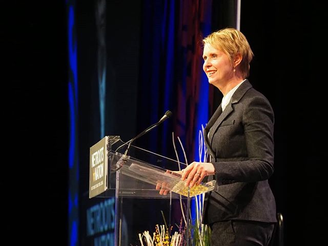 Scenes from #NN18: Cynthia Nixon electrified Netroots Nation with a speech about using primary challenges to prompt Democratic incumbents to adopt more progressive positions