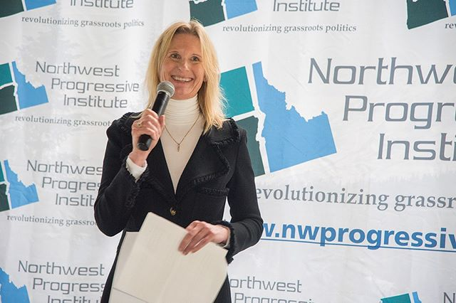 Scenes from NPI's Fifteenth Anniversary Picnic: State Senator Patty Kuderer reflects on the value of NPI's essential research and advocacy
