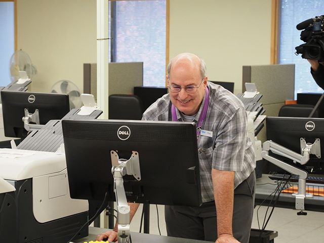 Inside King County Elections: Staff test the county's scanning machines to verify that they are operating correctly; it's one of the steps in the state-required Logic & Accuracy Test