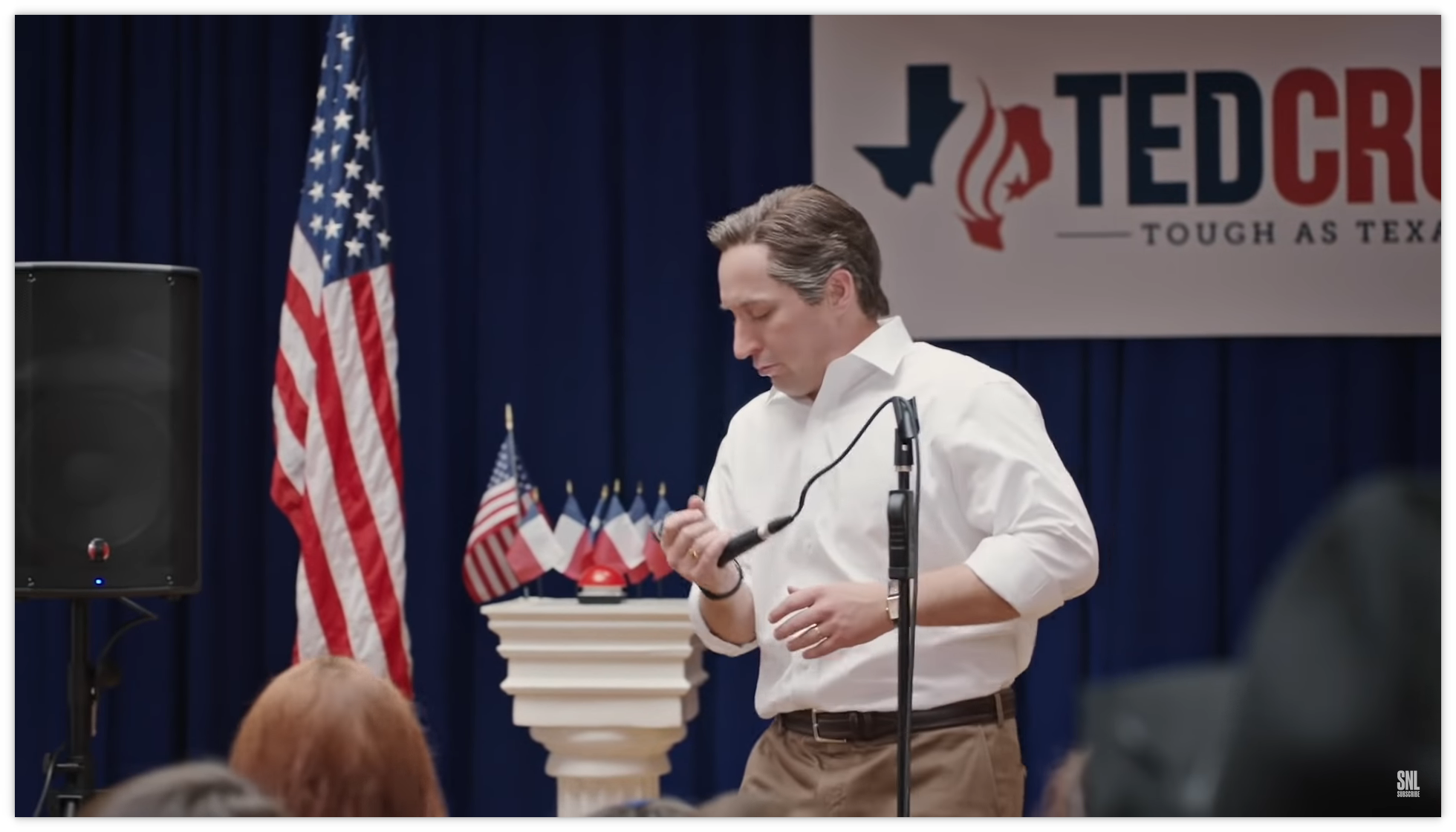 SNL spoofs Ted Cruz