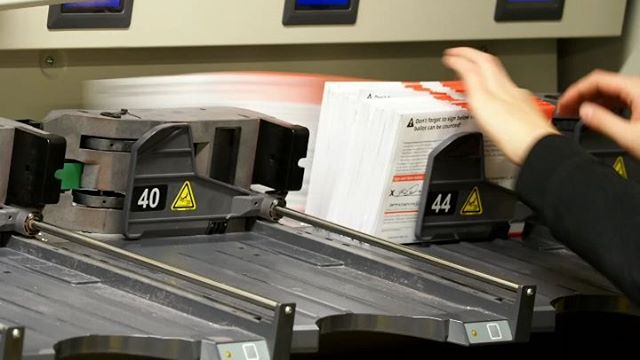 Inside King County Elections, Part II: This industrial strength Pitney Bowes sorting machine helps elections staff stay on top of hundreds of thousands of incoming ballots