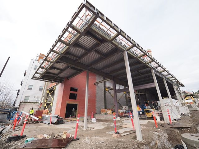 Inside the forthcoming Roosevelt Link light rail station: The future south entrance