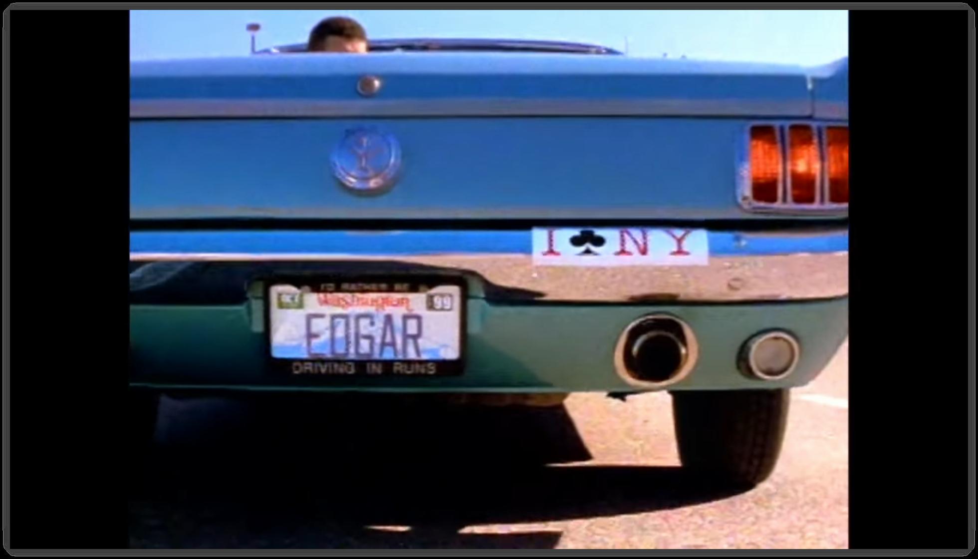 Edgar's convertible