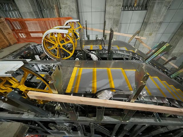 "Inside the forthcoming Roosevelt Link light rail station: Another look at the heavy duty, ""transit grade"" escalators that will be in use from Day One"