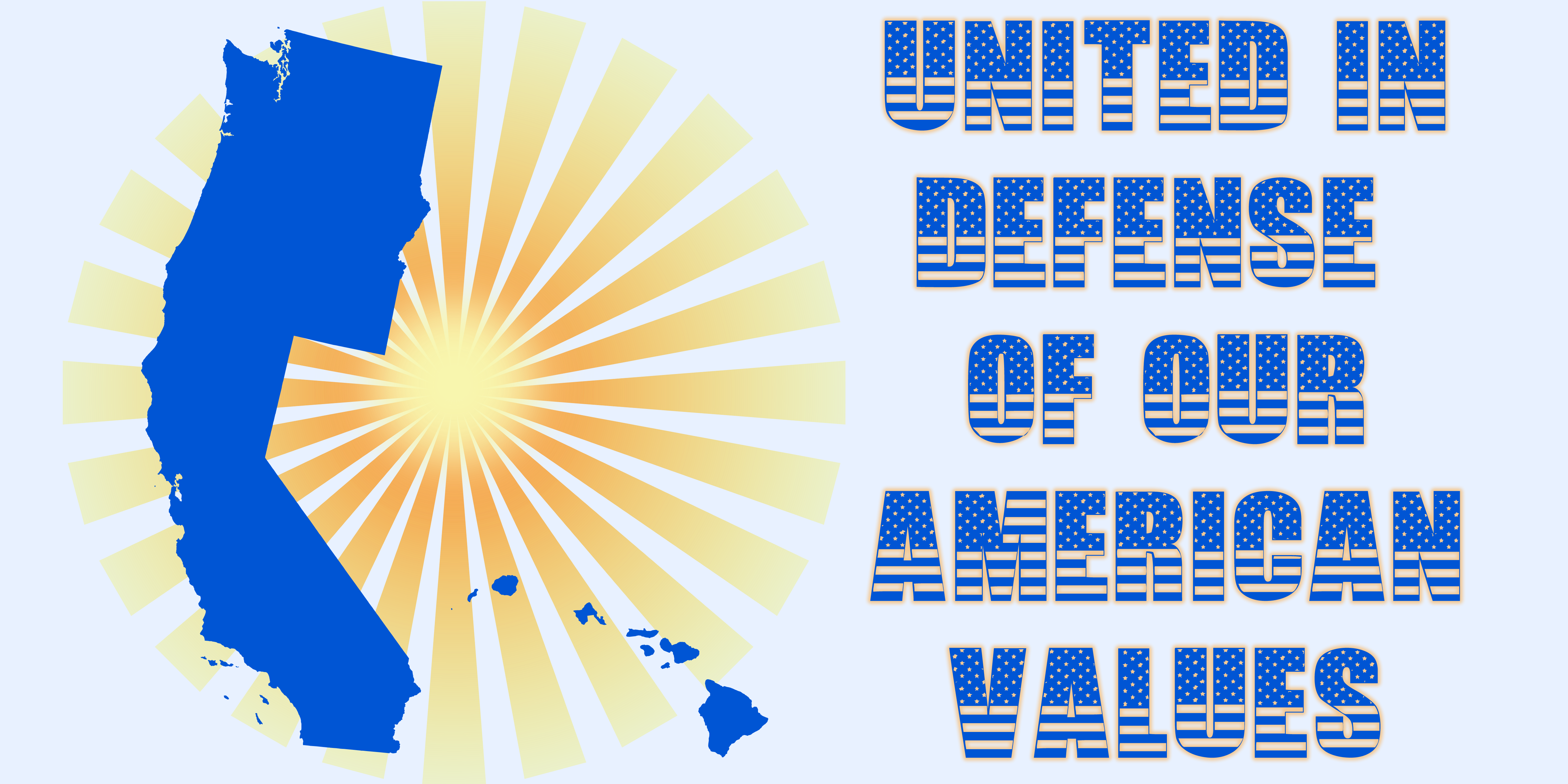 Left Coast United in Defense of our American Values