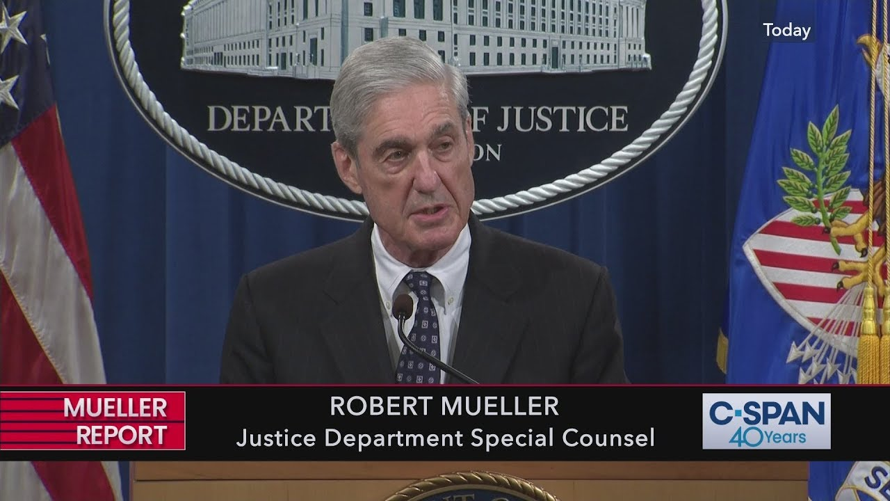 Robert Mueller speaks