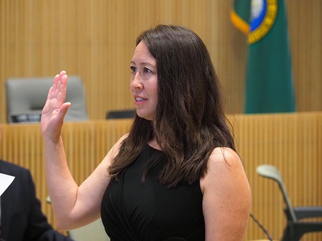 Davina Duerr, the newest member of the Washington State House of Representatives