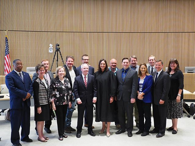 The King and Snohomish County Councils congratulate newly appointed Senator Derek Stanford