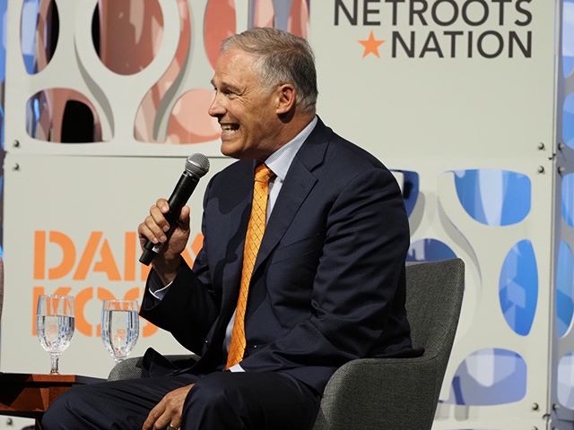 Jay Inslee participates in Netroots Nation's 2019 presidential leadership forum #NN19