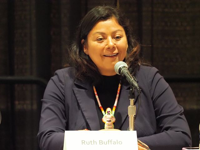 Ruth Buffalo defeated Republican Randy Boehning, the sponsor of a restrictive voter identification law, to become the first Native American Democratic woman elected to the North Dakota State Legislature #NN19