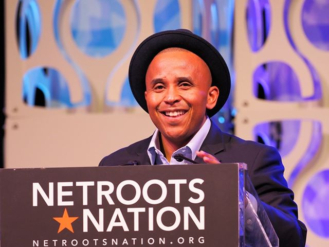 Color of Change's Rashad Robinson explains that racial justice is not about charity; it's a strategy for building progressive political power #NN19