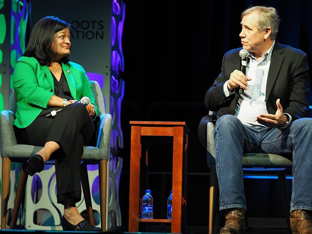 Northwest pride: Pramila Jayapal and Jeff Merkley were a treat at Netroots Nation 2019, offering a valuable bicameral postmortem of the southwest border crisis funding bill #NN19